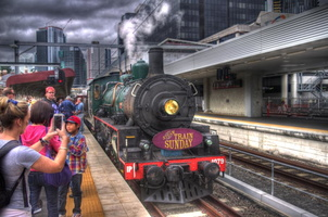 HDR Steamtrain Sunday